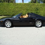 Black on Tan:  1987 Ferrari 328 GTS For Sale