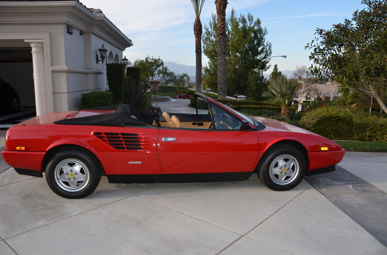 ... Cars For Sale » Blog Archive » 1986 Ferrari Mondial 3.2 Cabriolet