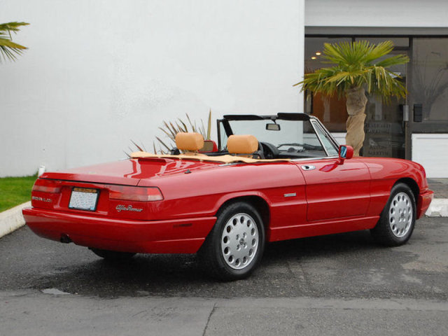 Alfa Romeo Spider Veloce Classic Italian Cars For Sale - 1993 alfa romeo spider for sale