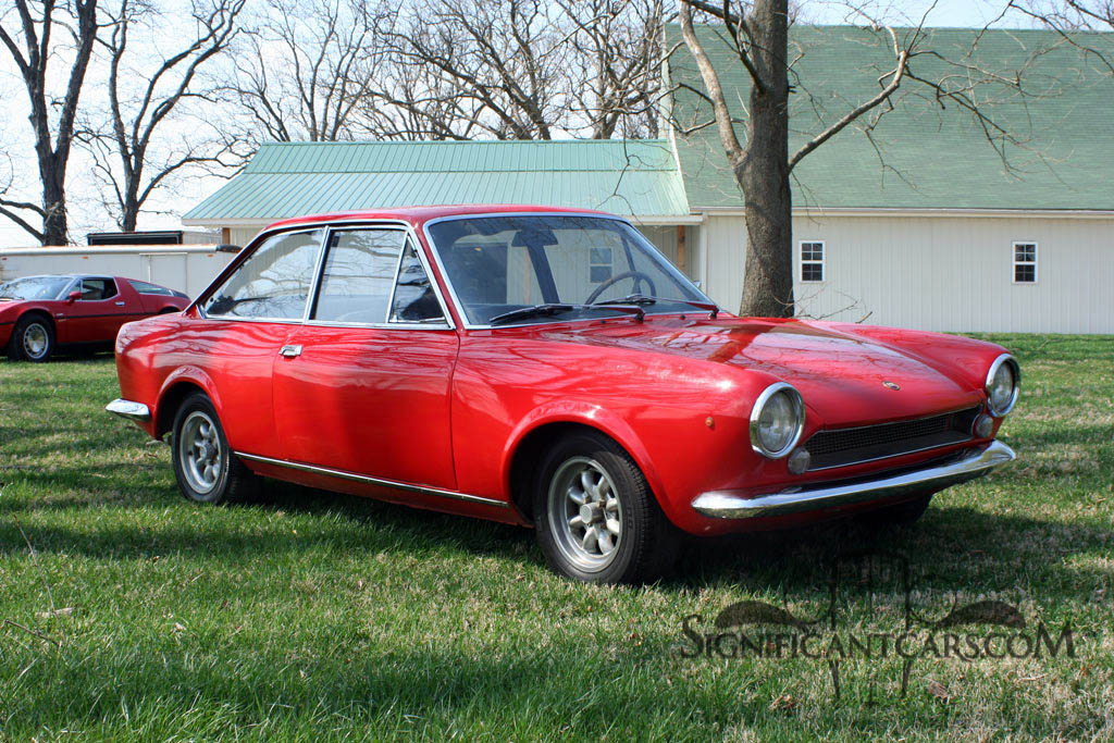 classic italian cars for sale blog archive 1969 fiat 124 sport coupe. Black Bedroom Furniture Sets. Home Design Ideas