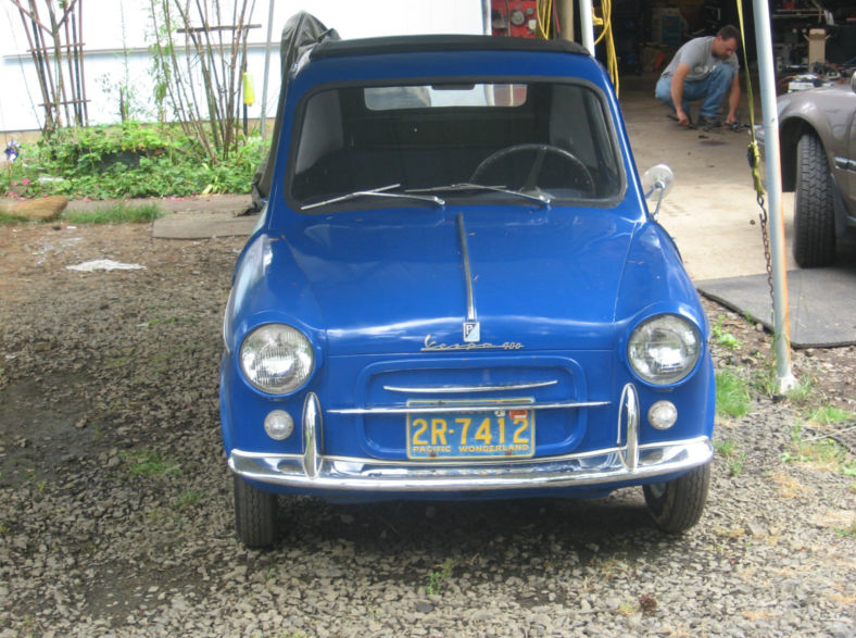 1960 Vespa Car