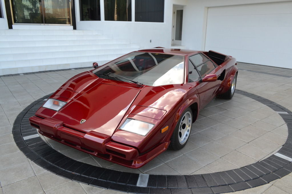 1985 Lamborghini Countach 5000s Classic Italian Cars For