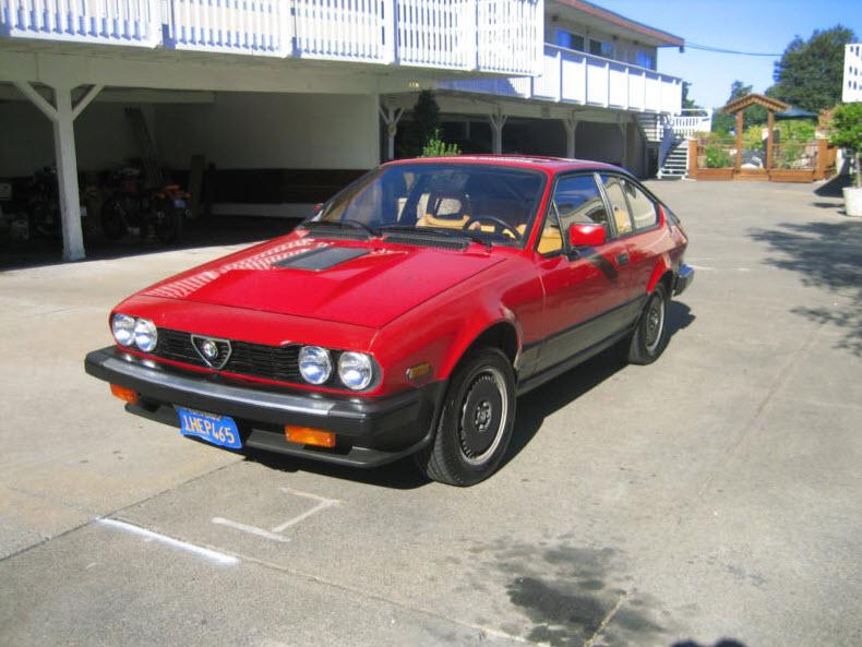 1983 alfa romeo gtv6 classic italian cars for sale. Black Bedroom Furniture Sets. Home Design Ideas