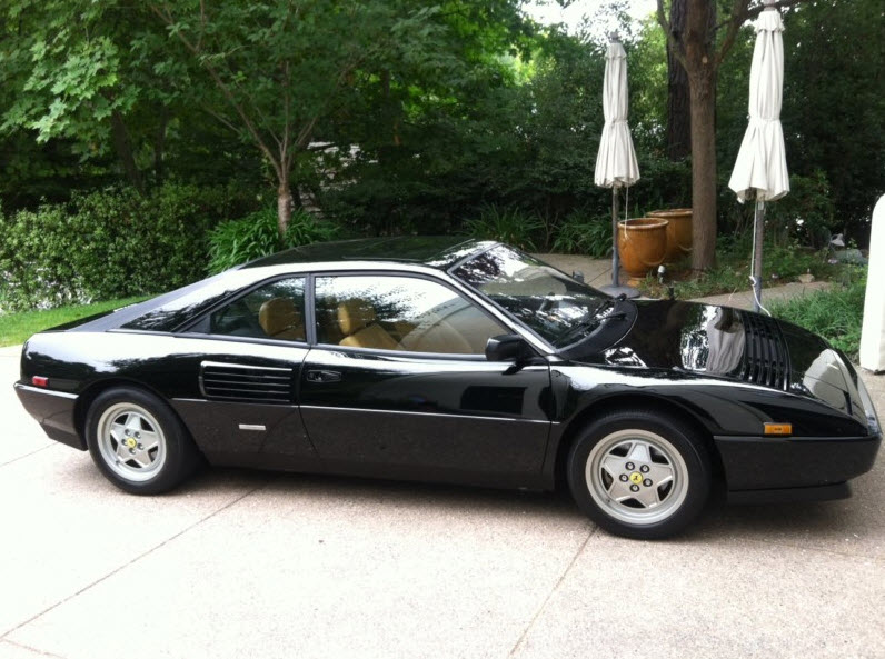 classic italian cars for sale blog archive 1989 ferrari mondial t coupe. Black Bedroom Furniture Sets. Home Design Ideas