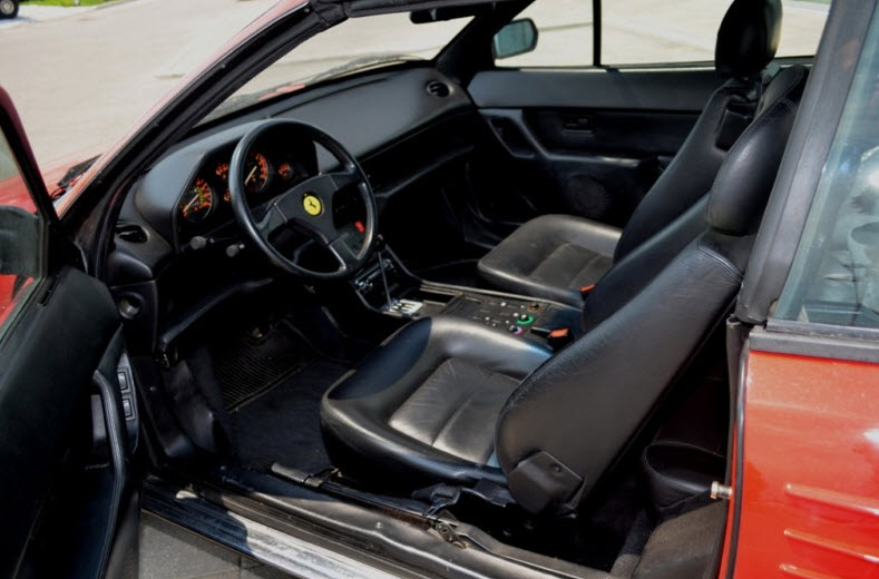 classic italian cars for sale blog archive 1992 ferrari mondial valeo t c. Black Bedroom Furniture Sets. Home Design Ideas
