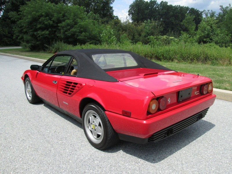 classic italian cars for sale blog archive 1987 ferrari mondial 3 2 cabriolet. Black Bedroom Furniture Sets. Home Design Ideas