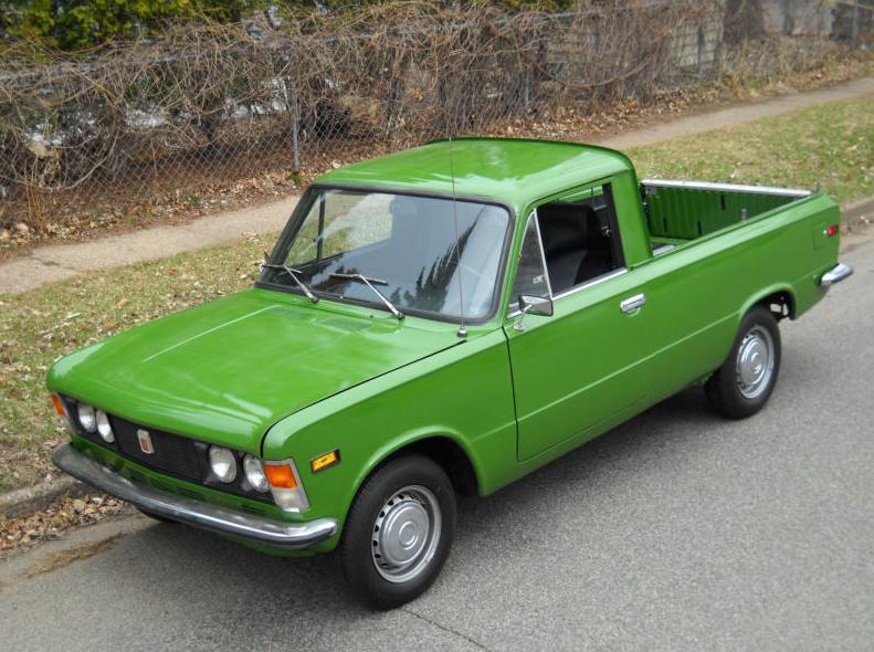 1976 Polski Fiat 125p Pickup Classic Italian Cars For Sale