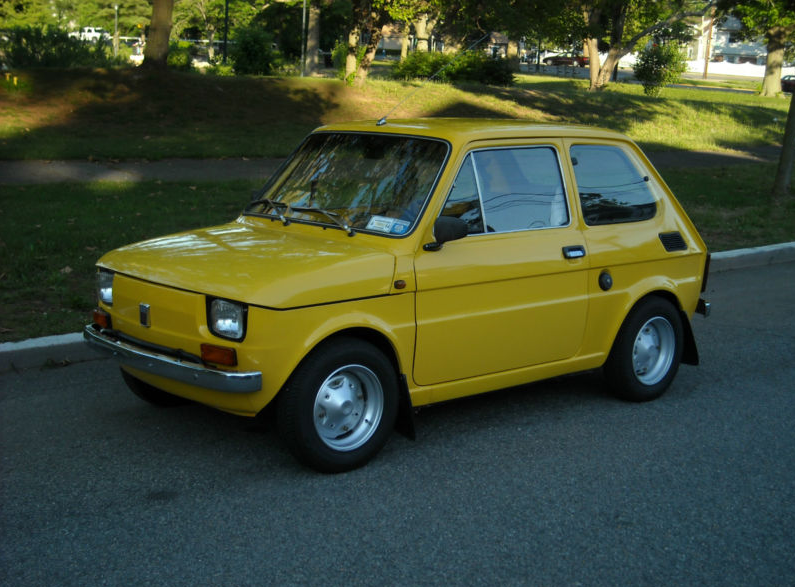 classic italian cars for sale blog archive 1976 fiat 126p. Black Bedroom Furniture Sets. Home Design Ideas