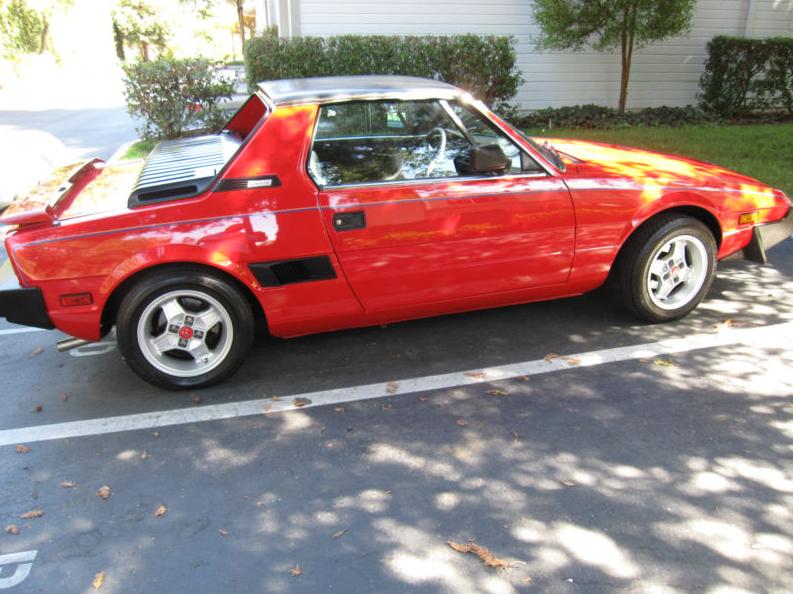 Classic Italian Cars For Sale 187 Blog Archive 187 1987 Bertone X1 9