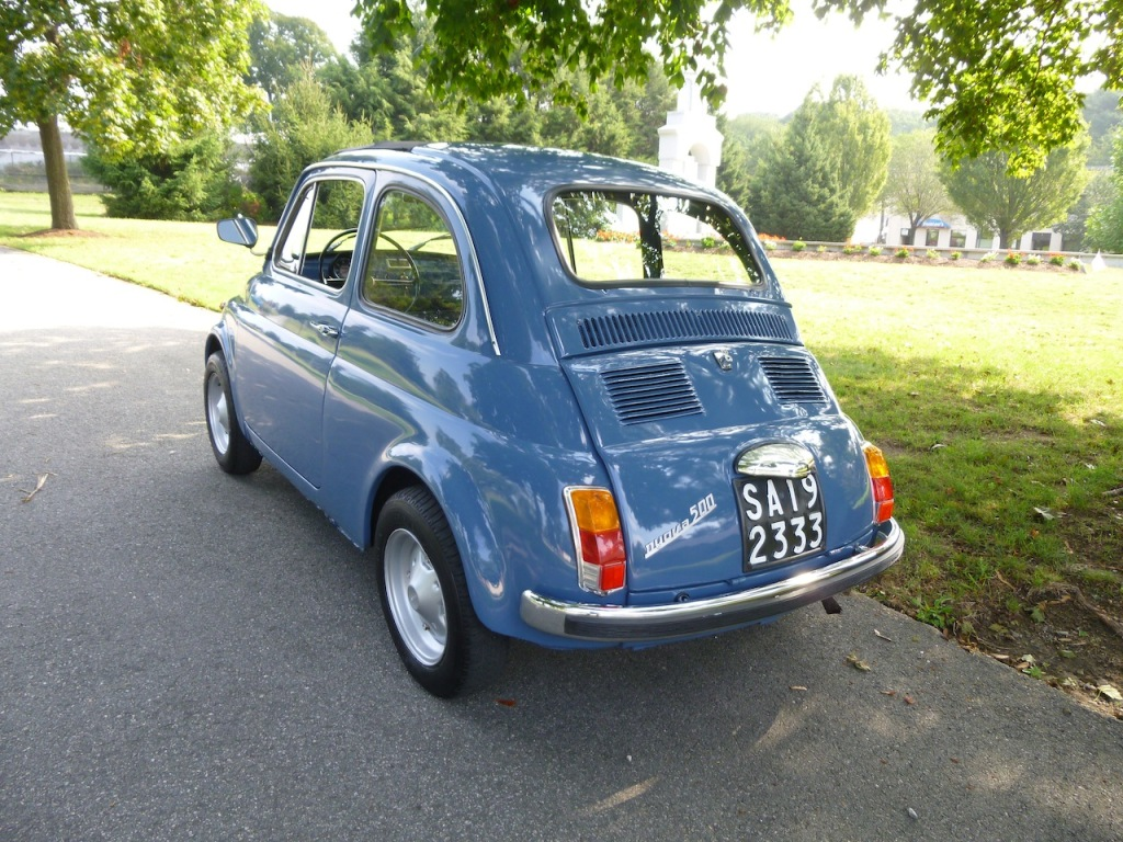 1968 fiat 500l classic italian cars for sale. Black Bedroom Furniture Sets. Home Design Ideas
