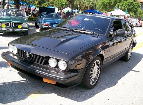 classic italian cars for sale blog archive 1984 alfa romeo gtv6. Black Bedroom Furniture Sets. Home Design Ideas