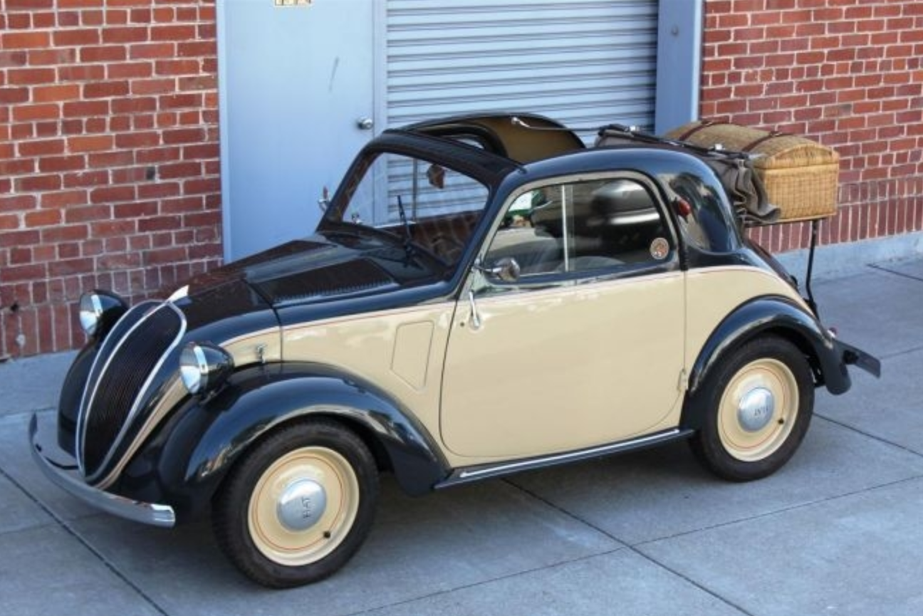 classic italian cars for sale blog archive 1947 fiat topolino 500a. Black Bedroom Furniture Sets. Home Design Ideas