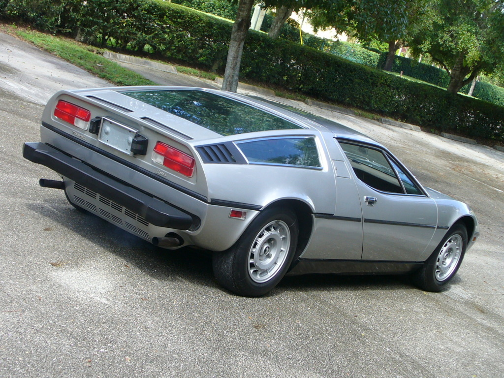 1977 Maserati Bora Classic Italian Cars For Sale