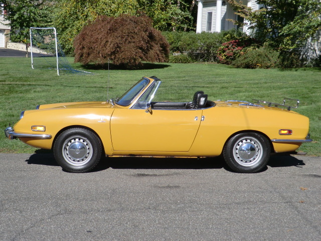 classic italian cars for sale blog archive 1970 fiat 850 spider. Black Bedroom Furniture Sets. Home Design Ideas