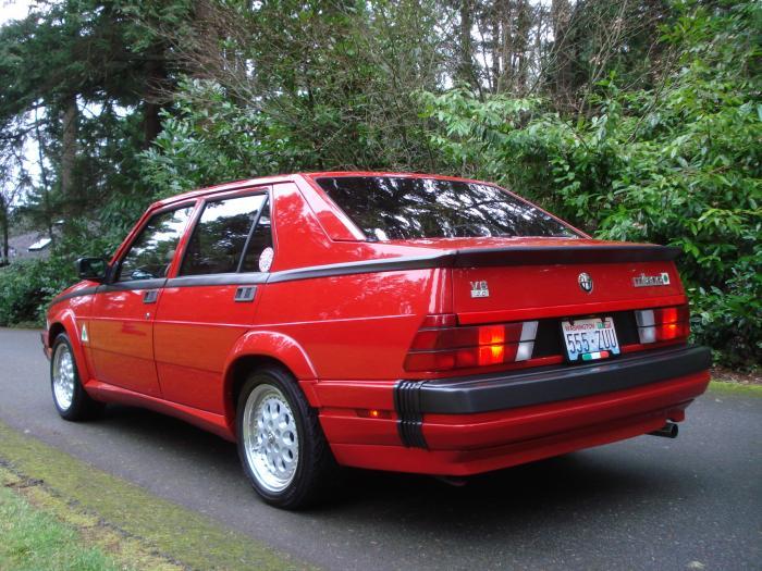 1988 alfa romeo milano verde parts 11