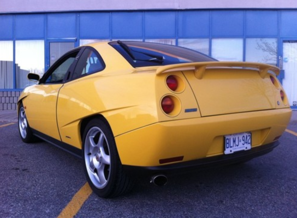 Fiat coupe for sale