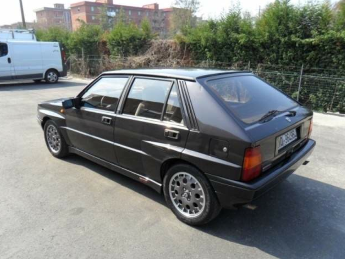 1988 lancia delta hf integrale 8v classic italian cars for sale. Black Bedroom Furniture Sets. Home Design Ideas