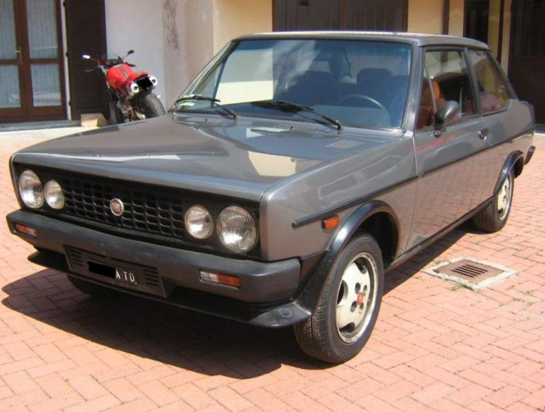 1984 Fiat 131 Abarth Volumetrico Classic Italian Cars