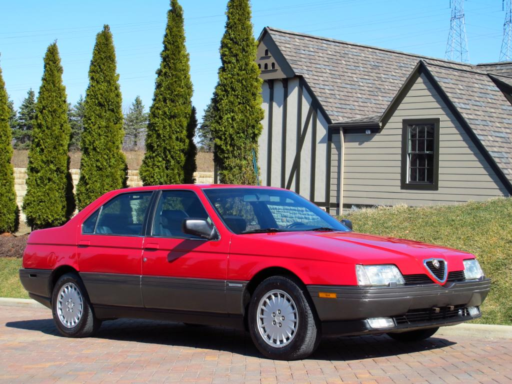 1992 alfa romeo 164l | classic italian cars for