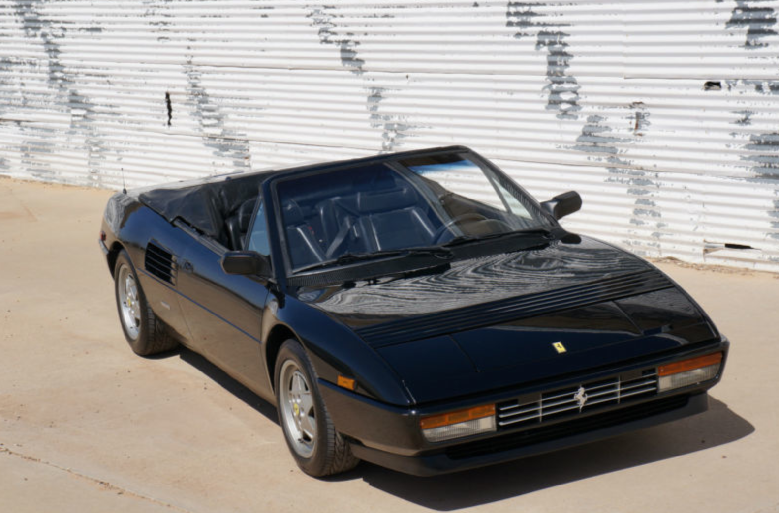1992 ferrari mondial t cabriolet classic italian cars for sale. Black Bedroom Furniture Sets. Home Design Ideas