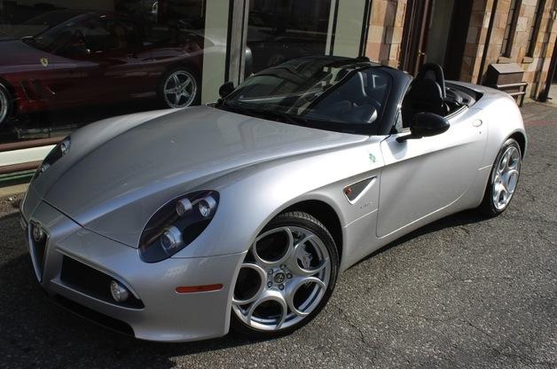 2009 alfa romeo 8c spider classic italian cars for sale. Black Bedroom Furniture Sets. Home Design Ideas