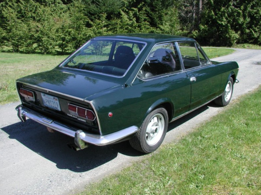 classic italian cars for sale blog archive 1968 fiat 124 sport coupe. Black Bedroom Furniture Sets. Home Design Ideas