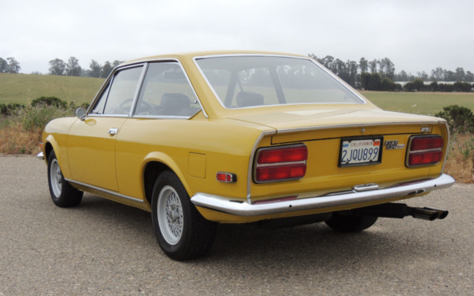 classic italian cars for sale blog archive 1970 fiat 124 sport coupe. Black Bedroom Furniture Sets. Home Design Ideas