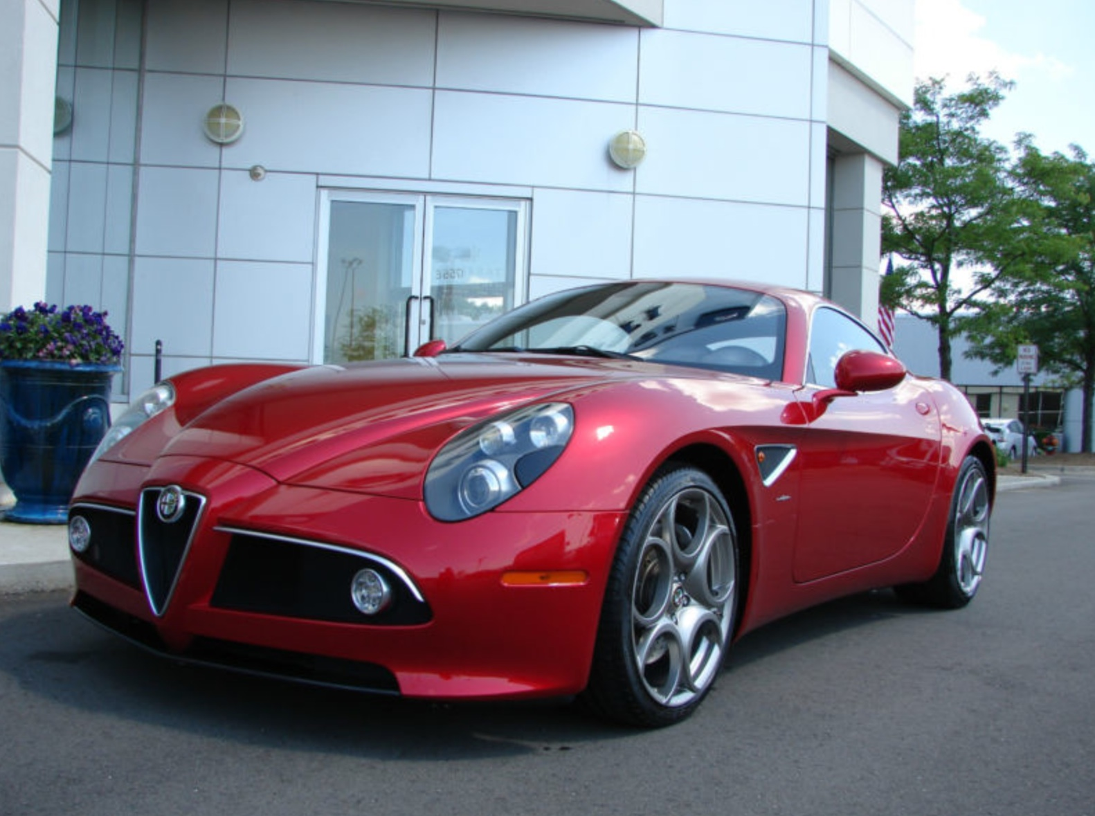 2008 alfa romeo 8c competizione classic italian cars for. Black Bedroom Furniture Sets. Home Design Ideas