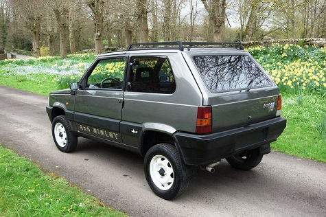 Classic italian cars for sale blog archive 1988 fiat for Panda 4x4 sisley off road