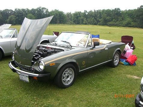 classic italian cars for sale blog archive 1981 fiat 2000 spider turbo. Black Bedroom Furniture Sets. Home Design Ideas