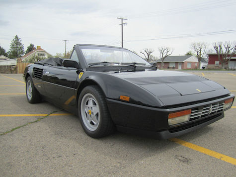 classic italian cars for sale blog archive 1988 ferrari mondial cabriolet. Black Bedroom Furniture Sets. Home Design Ideas