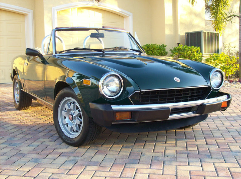 Fiat 124 Spider For Sale >> 1982 Fiat 2000 Spider | Classic Italian Cars For Sale
