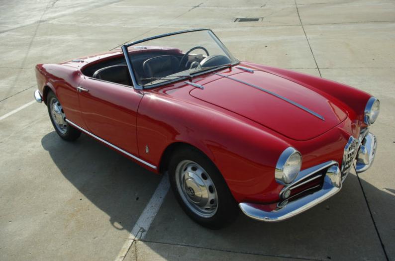 1959 alfa romeo giulietta spider | classic italian cars for sale