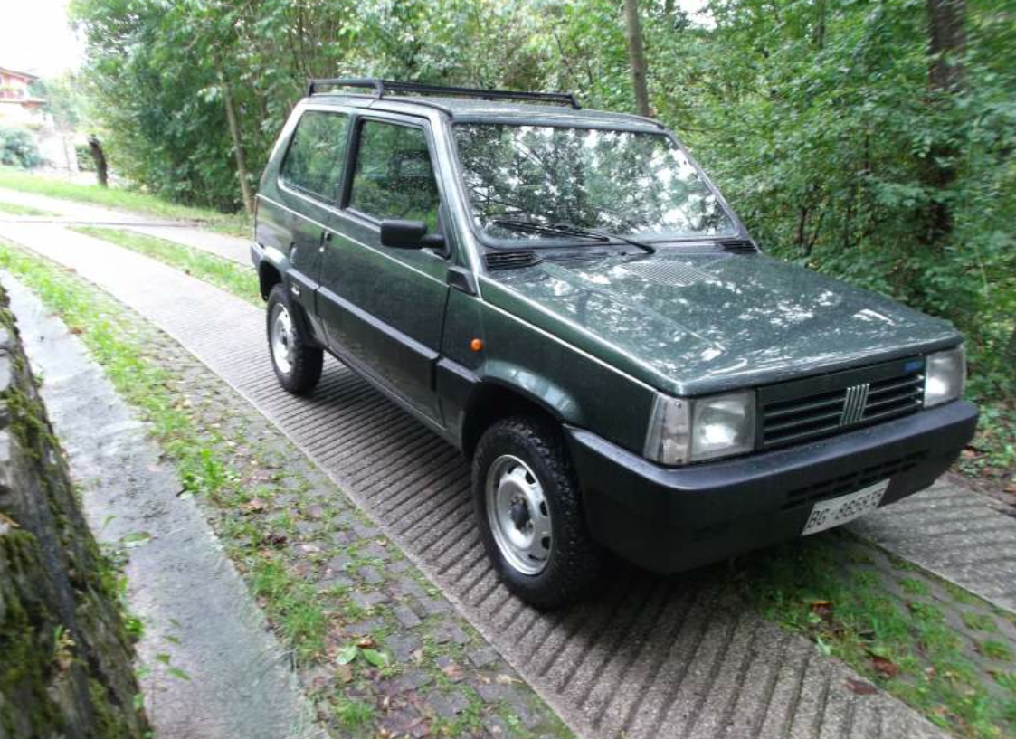 1987 fiat panda 4 4 classic italian cars for sale. Black Bedroom Furniture Sets. Home Design Ideas